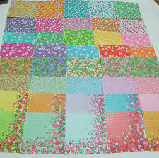 40Sheets Origami paper Various pattern Folding lucky wish Crane craft paper