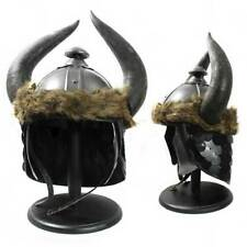 HL 106 Conan Barbarian Viking Helmet Horns Movie Stand Lining Ready to Wear