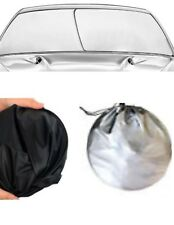 WINDSHIELD SUN SHADE ( EZ INSTALL , EZ FOLD, EZ STORE ) Foldable Dash Protector