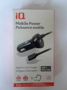 IQ Mobil Power Rapid In Car iPhone/iPad Charger