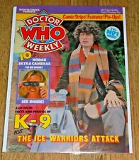 "Marvel Comics ""Doctor Who Weekly"" -  9th January 1980"