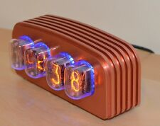 PV Electronics IN-12 Nixie Clock Kit with Various Case Options