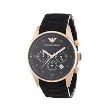 Emporio Armani AR5905 Black and Gold Chronograph Dial Men's Watch