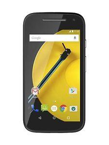 Motorola MOTO E (2nd Gen.) - 8GB - Black (Unlocked) Smartphone 4G LTE