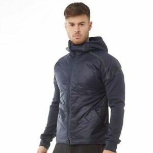 Adidas ZNE Hybrid Jacket Legend Navy Ink for Men Full Zip Brand New Coat Casual