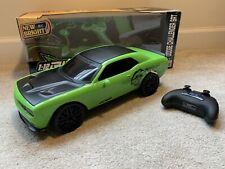Dodge Challenger Green SRT 1:12 RC New Bright model 61222-4G