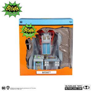 "DC Retro Batman 1966 Batcave Playset 6"" Scale - McFarlane Toys"