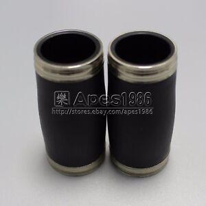 2 pcs Bb clarinet barrel good material Woodwind Accessories 60mm and 62mm