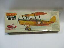 RARE VINTAGE DH-82A/C TIGER MOTH MATCHBOX 1/32