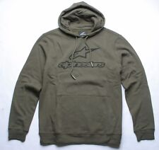 Alpinestars Always Fleece Hoody (M) Military Green