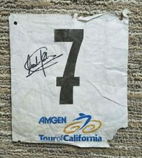 2009 Tour of California Number Astana Cycling Lance Armstrong - Chechu RUBIERA