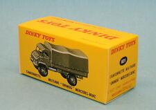 Boite neuve Dinky Toys Mercedes Unimog réf: 821