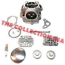 Cyinder Head Valves Spark Plug Complete Kit For Honda Atc70 Crf70 Ct70 Trx70