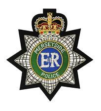 More details for merseyside police embroidered blazer badge