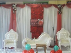 Fairy light Heavy Duty Wedding Backdrop & Swag for Hire ONLY