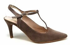 Andre Assous Womens Olenna Dress Pump Pointed Toe Taupe Suede Size 8.5 M US