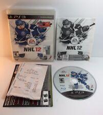 PS3 NHL 12 ( Sony PlayStation 3 )