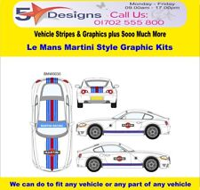 Bmw Z4 Coupe Le Mans Martini Race Rally Graphic Kit 30