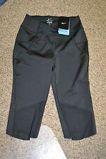 Nike Women's Sz M Medium- MOTION TRAINING CAPRIS - Black 743196 010