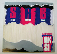 "STEVE ROGERS BAND ok si - 3 versioni 12""EP 1986 PROMO CBS12PRM078 VASCO ROSSI"