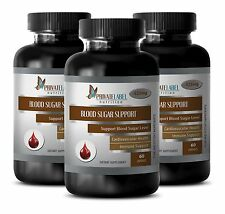 Lower blood sugar - BLOOD SUGAR CONTROL FORMULA - yarrow herb - 3 Bottles