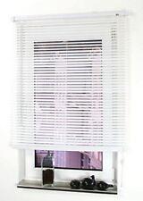 Jalousie 90x160 cm weiß Kunststoffjalousie Lamellen Rollo Fenster blickdicht neu