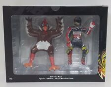 MINICHAMPS VALENTINO ROSSI 1/12 FIGURE APRILIA 250cc BARCELONA 1998 WITH CHICKEN