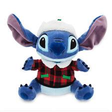 "NWT DISNEY Store Stitch Plush Holiday 12"" Doll Toy Christmas"