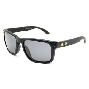 Mens Fashion Sports Oakley Holbrook Polarized Sunglasses Black Lens OO9102-21