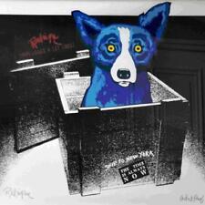 "Blue Dog George Rodrigue      ""Unplugged and Let Loose""    MAKE OFFER     BA DSS"