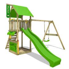 FATMOOSE MagicMarket Master XXL Climbing Frame Outdoor Slide Swing Set Garden