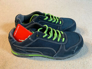 Puma Airtwist Low men's safety work shoes   grey/green   size 7   new
