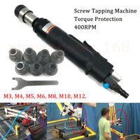 Torque Protected Tapping Machine Air Pneumatic Tapper Screw Tool & M3-M12 Chuck