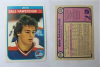 1982-83 OPC O-Pee-Chee #380 Hawerchuk Dale  RC Rookie  jets $ 20 #10