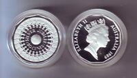 1989 50 Cent SILVER Coin Silver Jubilee ex Masterpieces in Silver Set
