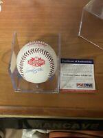 Joe Panik Autograph 2015 All Star Ball Baseball MLB San Francisco Giants PSA COA