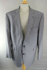 BRAND NEW WOOL RICH BLEND GREY JACKET: 50 INCH CHEST XXXL (LONG FIT)