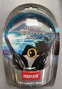 Maxell Light-Weight Stero Headphones 3.5mm L-Plug