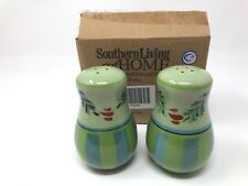 Southern Living Gail Pittman Hand-Painted Salt and Pepper Shaker Set Provence