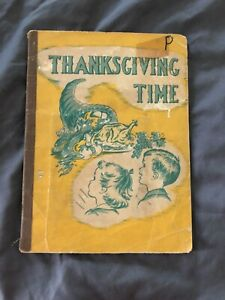 Happy Times with Jack and Jane: Thanksgiving Time. Esther Schenk. 1954 Ex-Lib