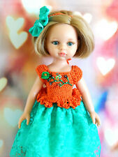 Clothes doll 13 Paola Reina , Corolle Les Cheries, outfit Top, skirt, bow