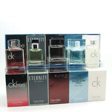 Calvin Klein Fragrance Travel Collection 5 pcs. Mini Gift Set for Men (5 x 10ml)