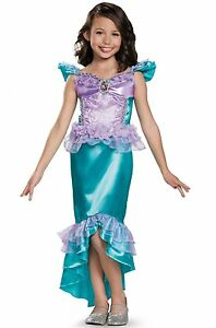 Disney Princess Ariel Little Mermaid Classic Toddler Child Costume