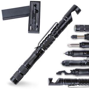 Anti-skid Tactical Pen Self Defense Police Military Emergency Gear Window Glass