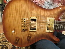 Prs Private Stock Custom 22 Smokey Blonde Flame Brazilian Fret  Curly Maple 2008