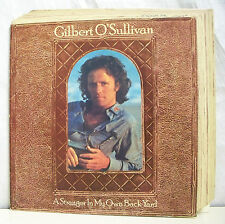"33 tours GILBERT O'SULLIVAN Disque Vinyl LP 12"" A STRANGER IN MY OWN BACK YARD"