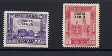 SOMALIA 1932 Scott 146 (NH)  150 (H)  POSTA AEREA (listed SANABRIA) *scarce*