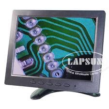 "Mini 8"" inch TFT LCD 4:3 Color Monitor Screen Display VGA BNC AV Fo PC CCTV Car"