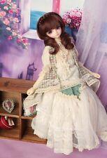 1/4 MSD MK DOD BJD dress skirt Suit Outfit lolita doll Dollfie LUTS flaxen