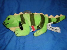 Coca Cola Collectable Plush Beanbag Iguana Lizard Paco
